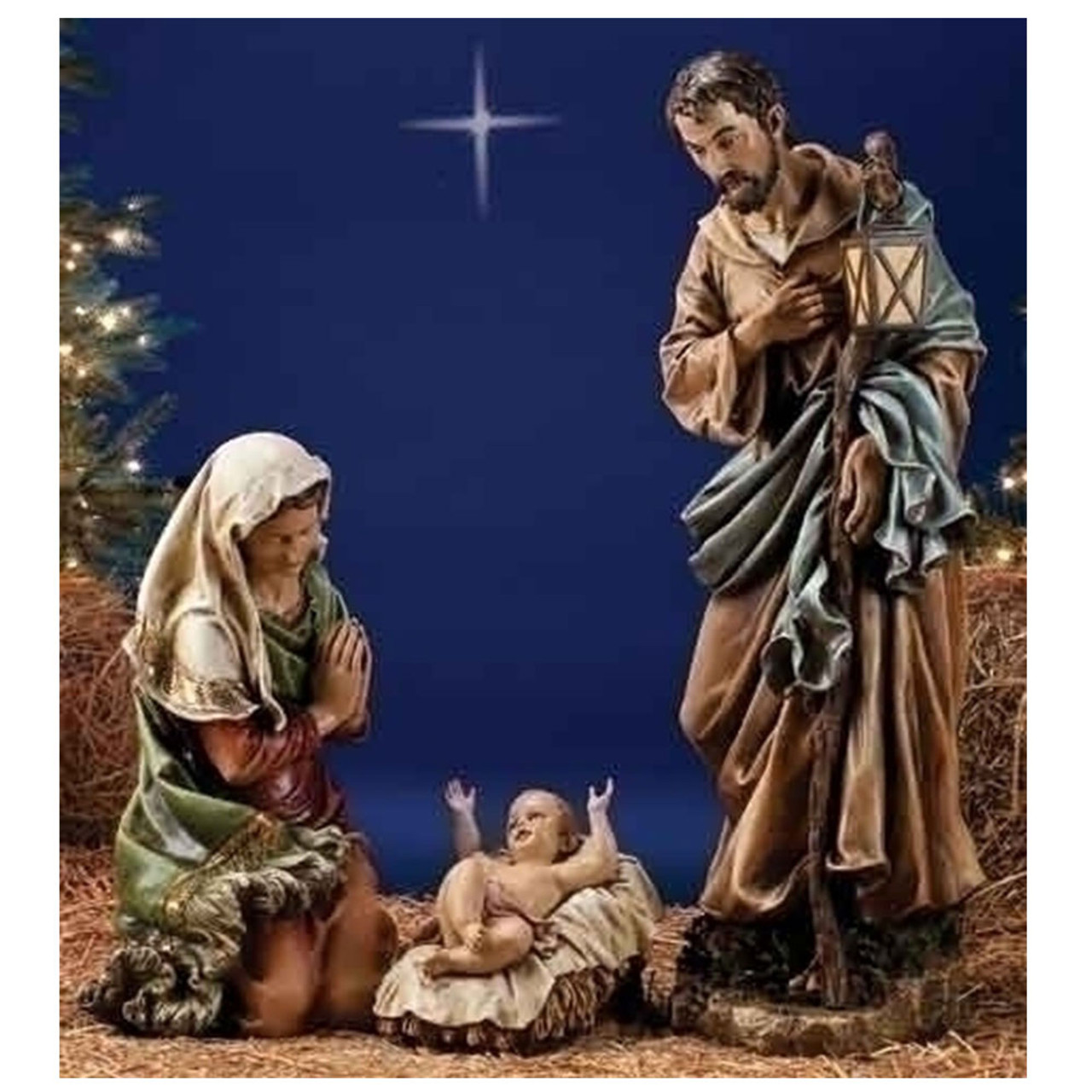 """39"""" Holy Family/Color from Joseph Studios"""
