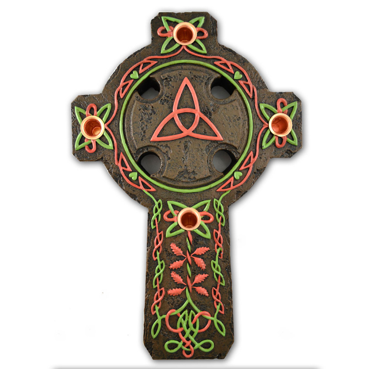Celtic Cross Irish Advent Wreath