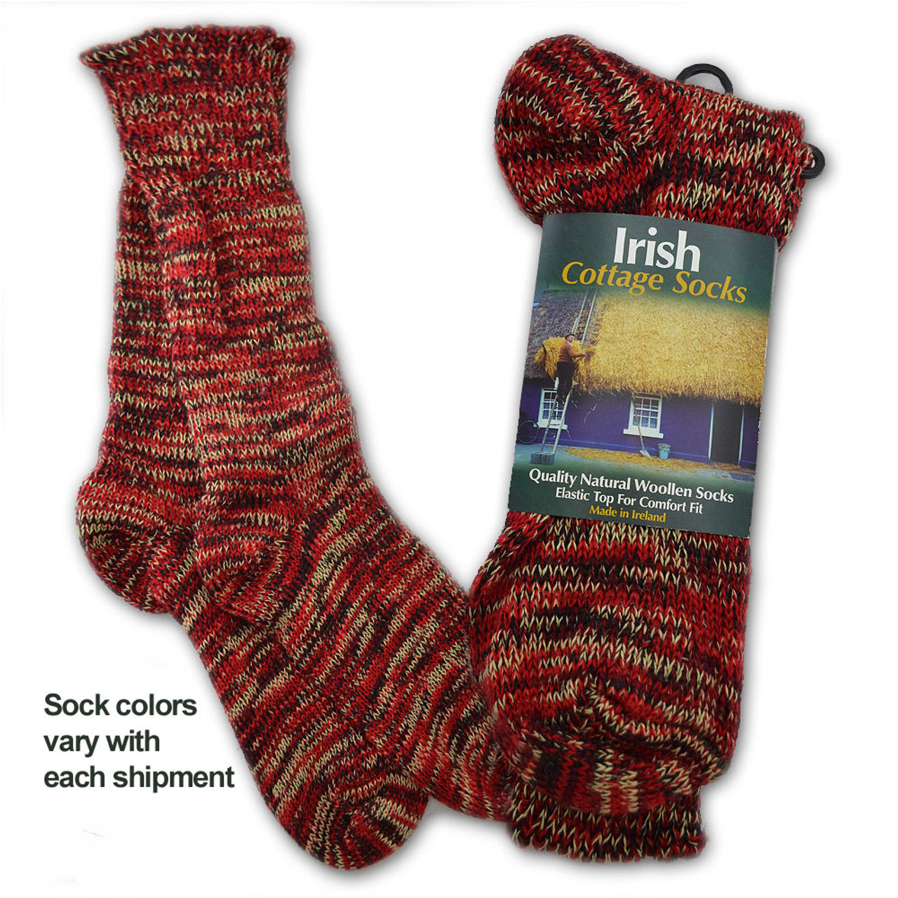 Irish Walking Socks for Ladies