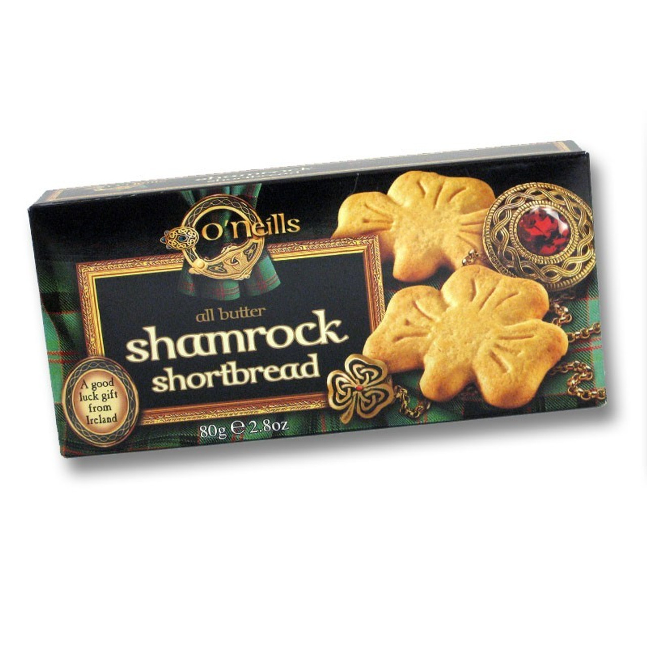 O'Neills Shamrock Shortbread Mix - Imported from Ireland