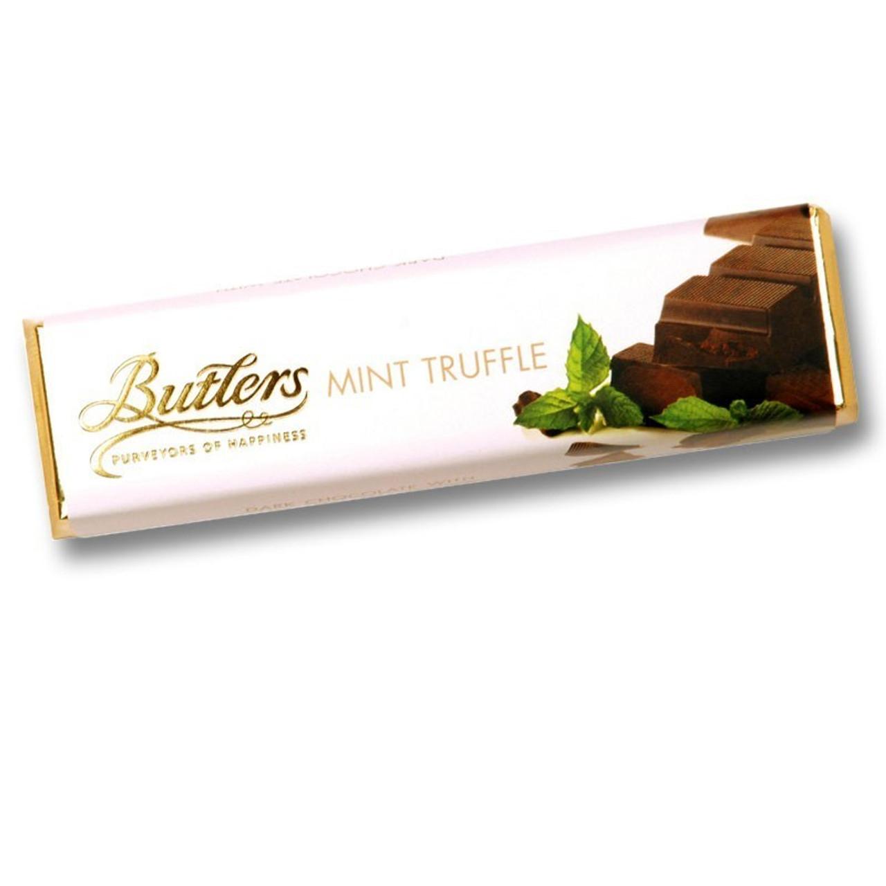 Butler's Mint Truffle Bar Dark Chocolate
