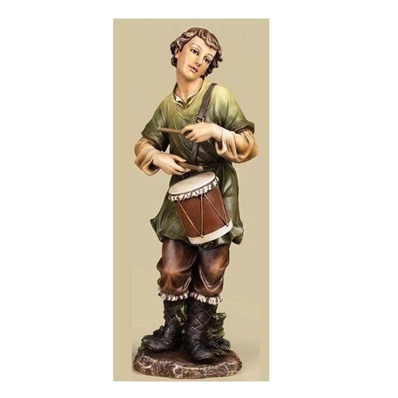 """Little Drummer Boy Figurine for Nativity 27""""H Color"""