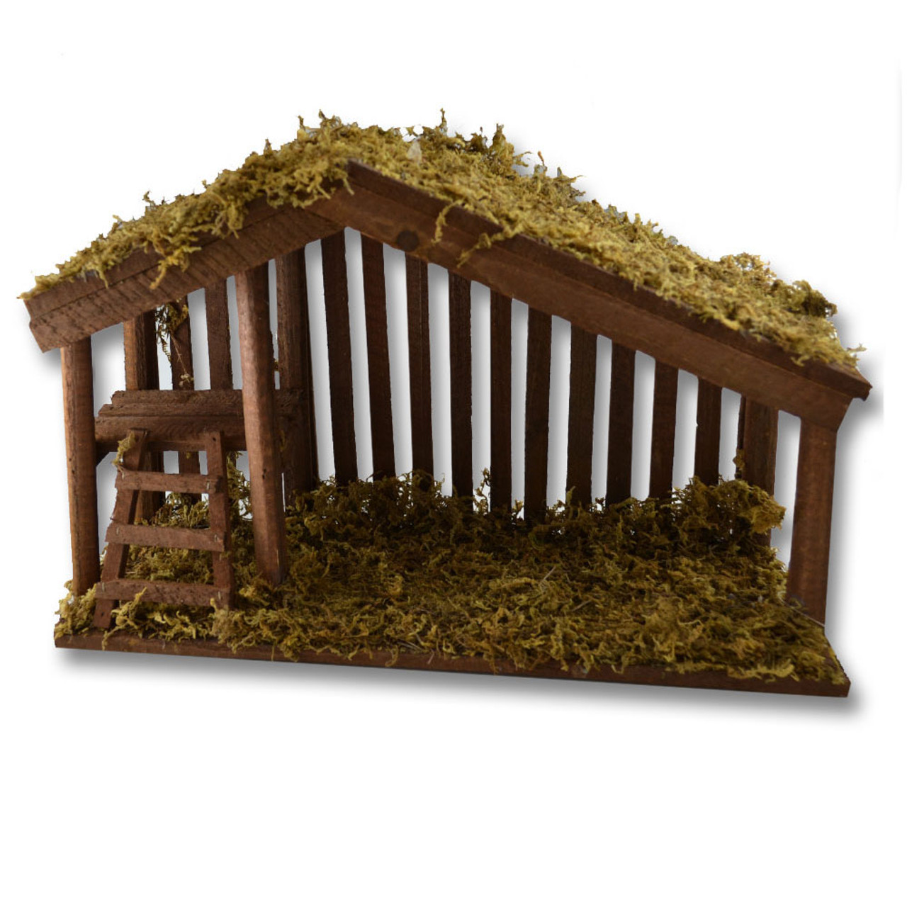 Stable with Moss 10 IN