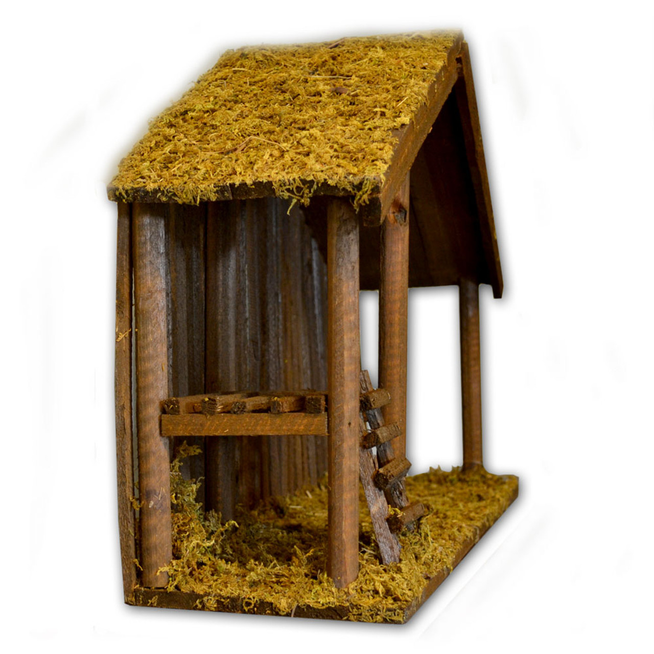 Stable with Moss 15 IN