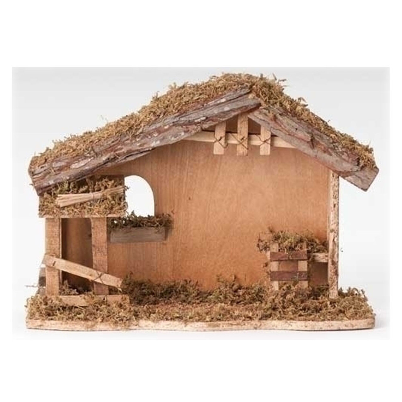 Wooden Stable 10.5 In
