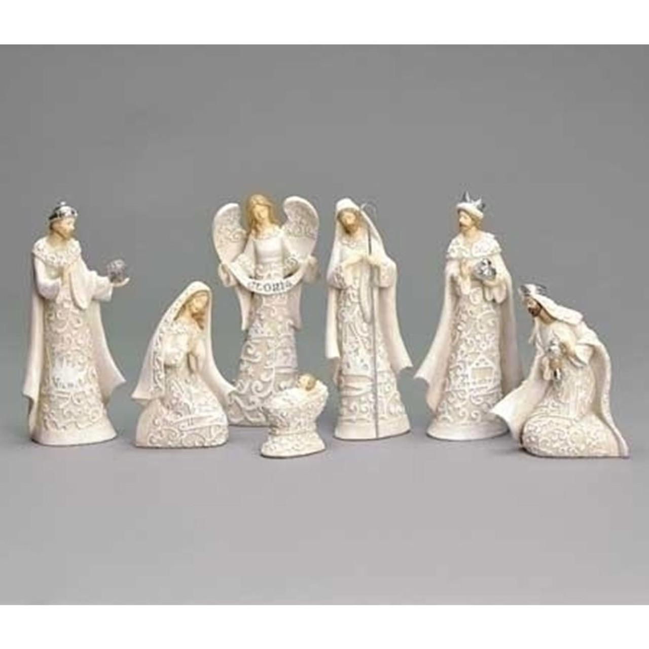 "7-Piece Nativity Set - 7.5""H"
