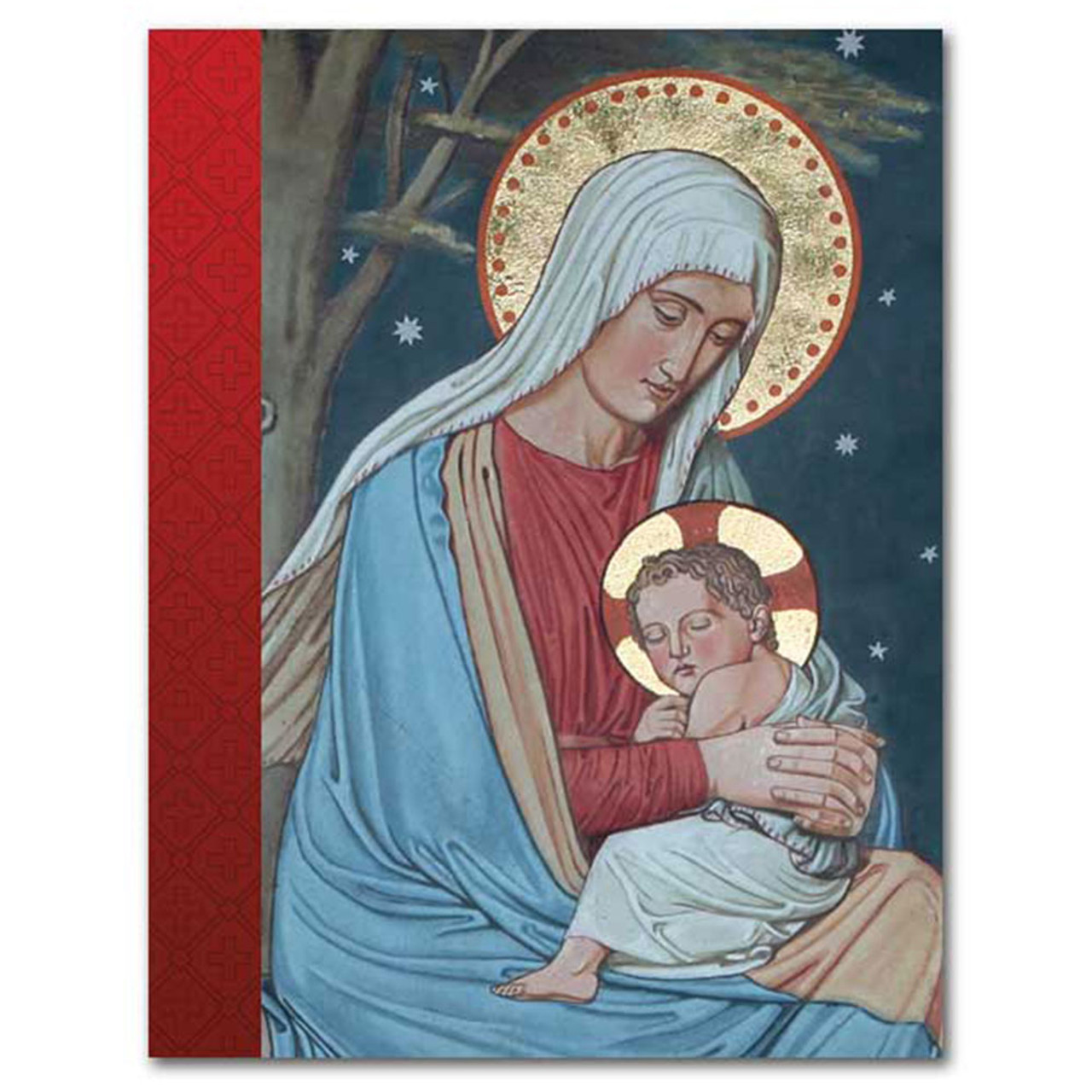 Mary and Jesus Christmas Notes Boxed