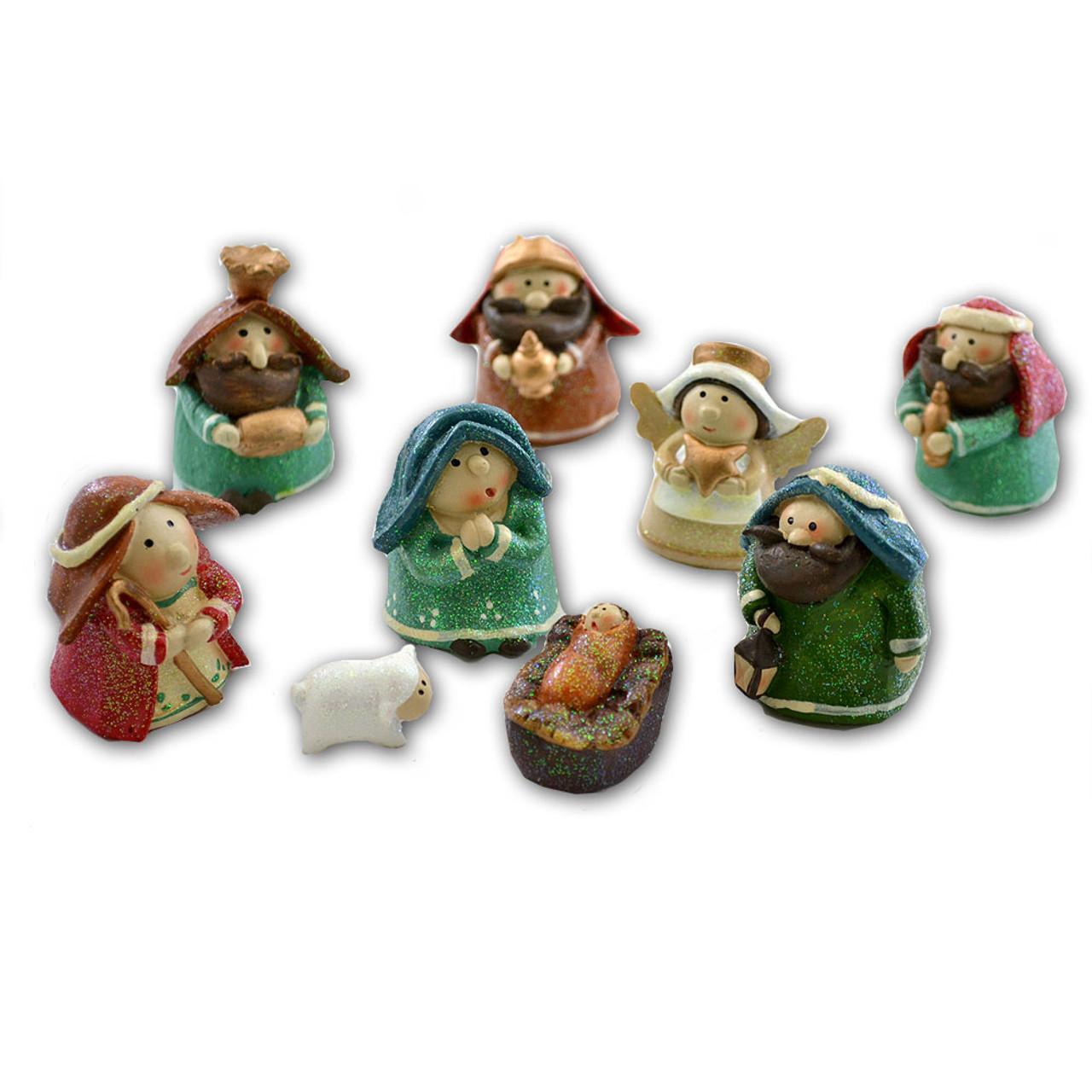 9-Pc Child Nativity Set