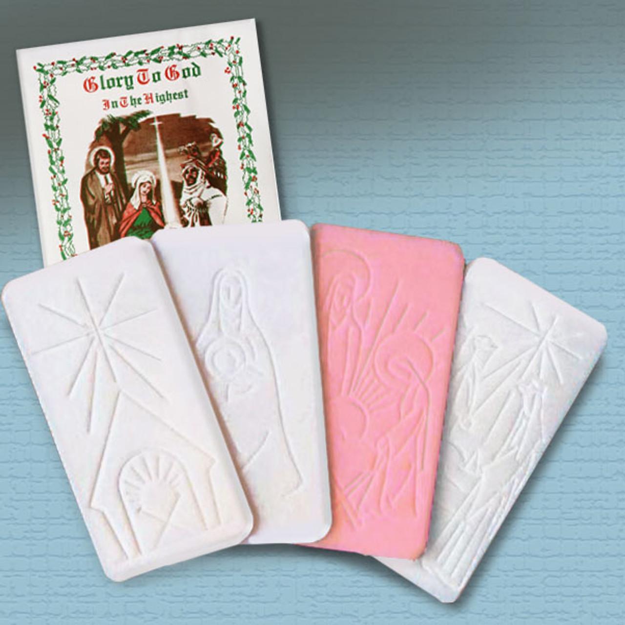 Oplatki Christmas Wafer Packet of 4