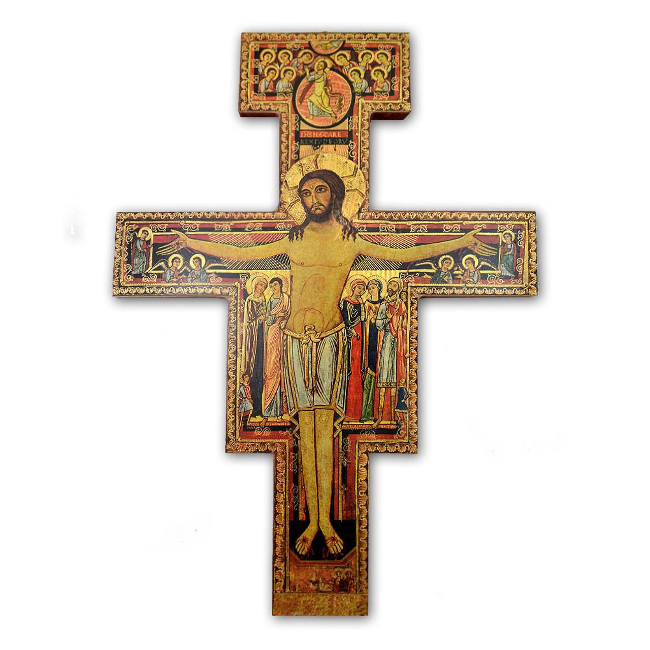 """San Damiano Cross- 15"""""""
