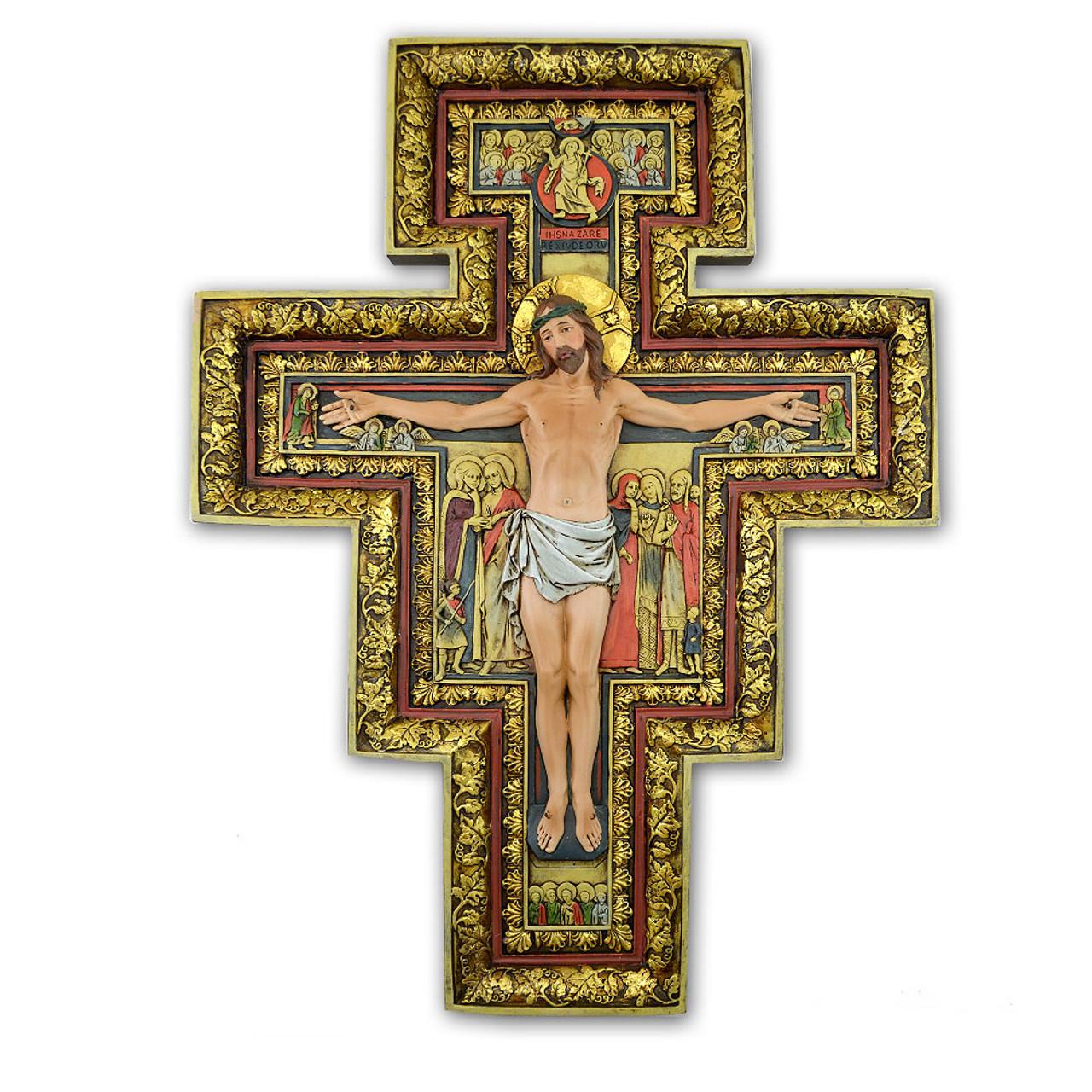 San Damiano Cross 18In
