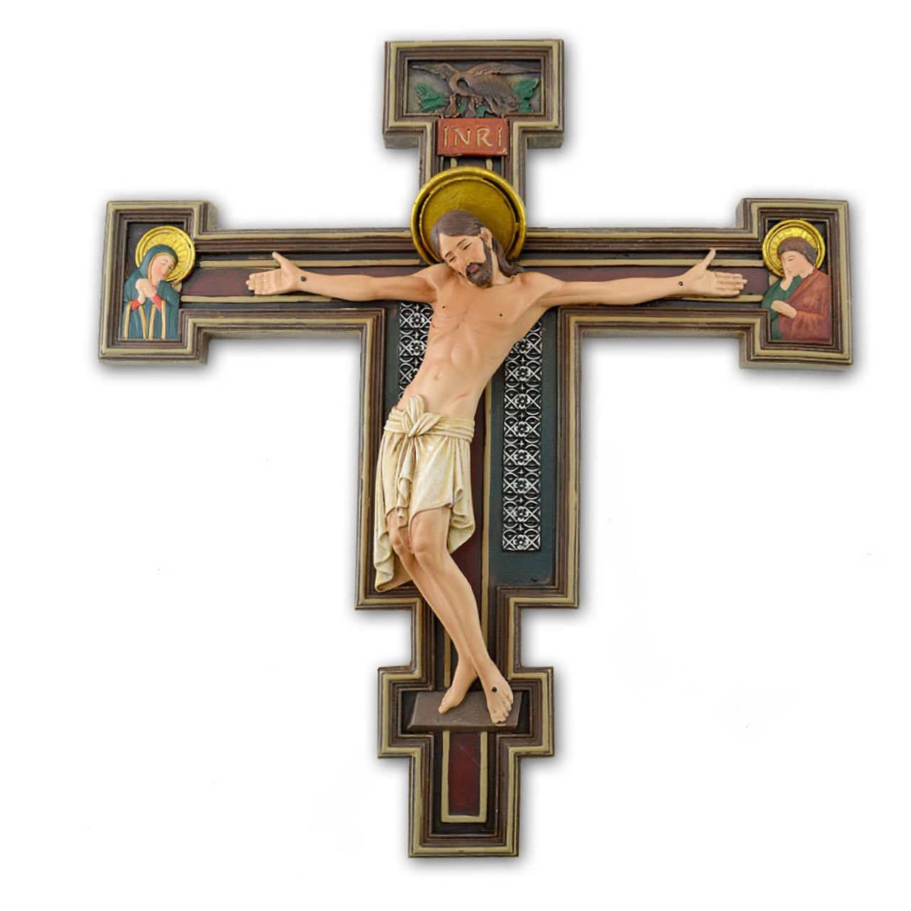 Florentine Crucifix 10.25IN Joseph Studio