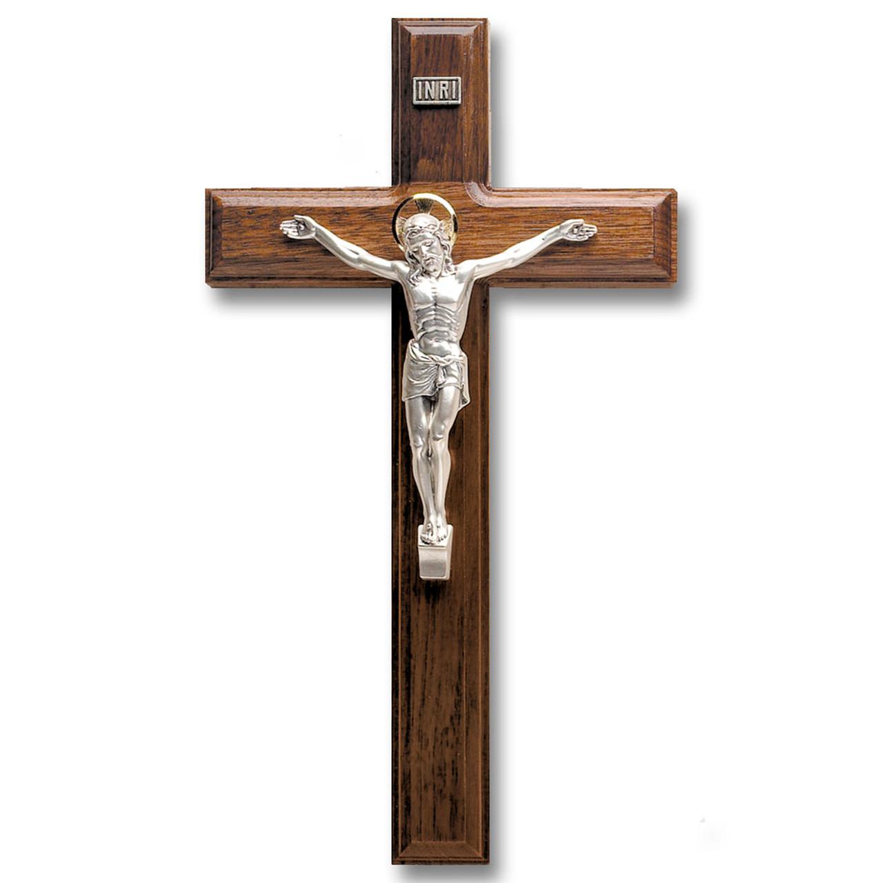 Salerni Walnut Crucifix