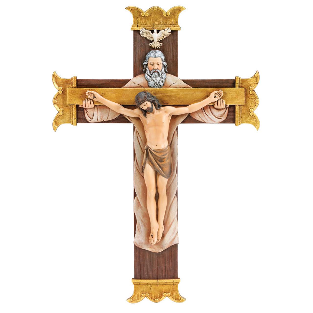 Holy Trinity Crucifix 10.25IN