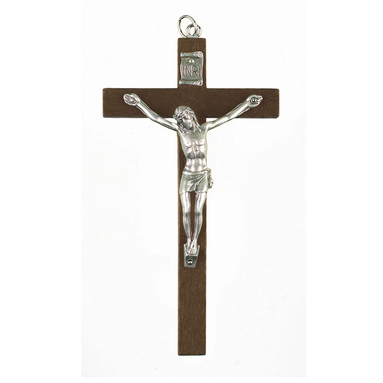 Small Wood Crucifix