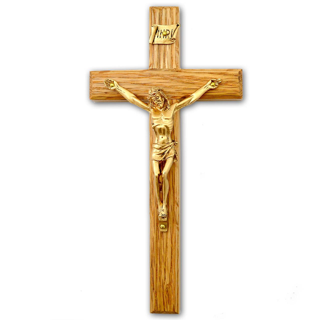 """6"""" Wood Crucifix"""