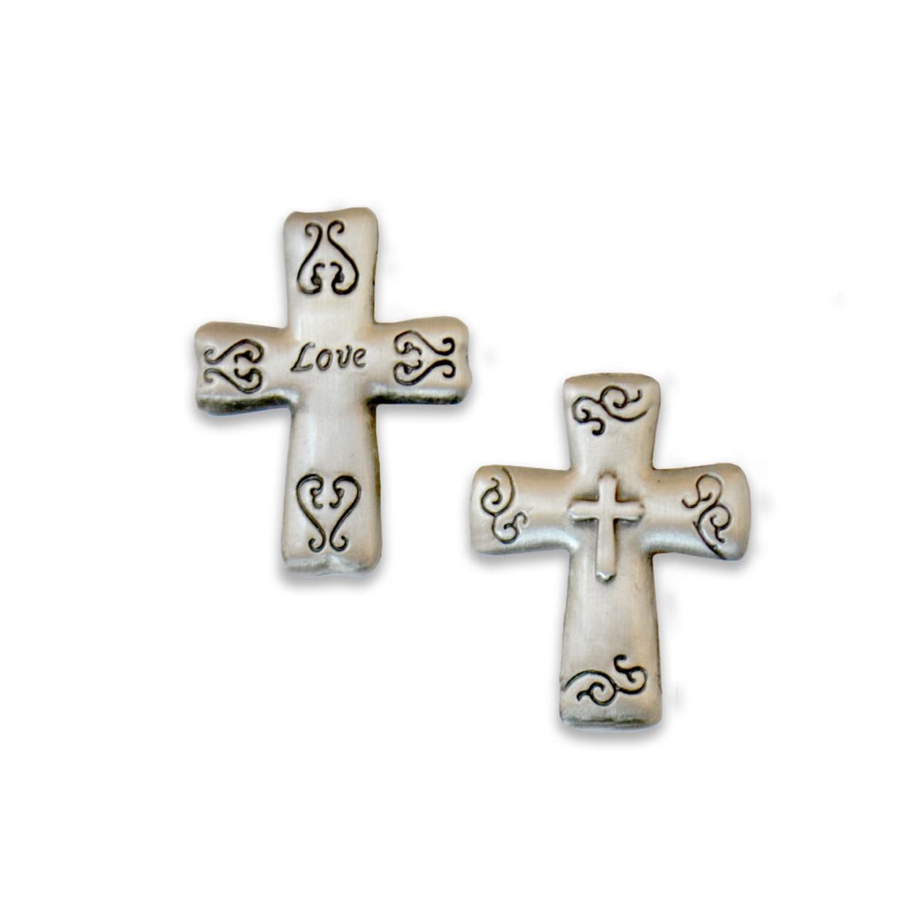 Blessings Pocket Crosses - 6 Styles