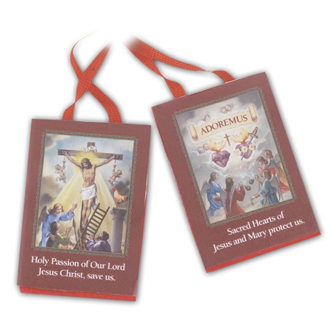 Red Scapular of Passion of Christ
