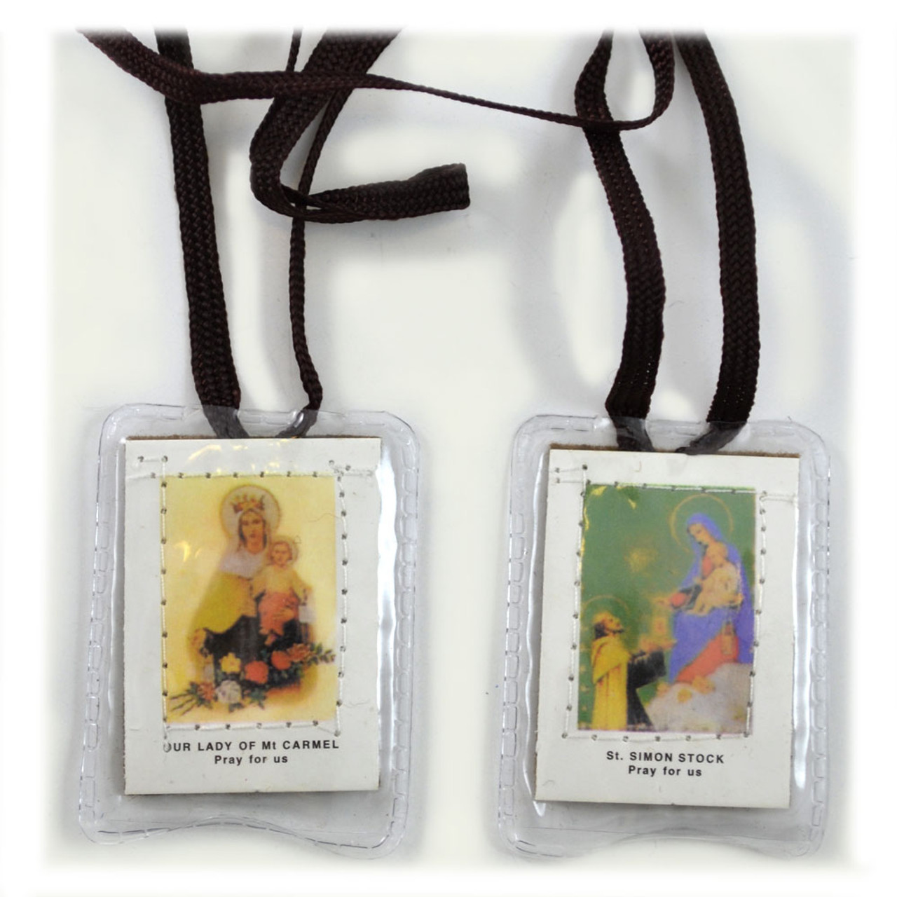 Our Lady of Mt. Carmel Brown Scapular