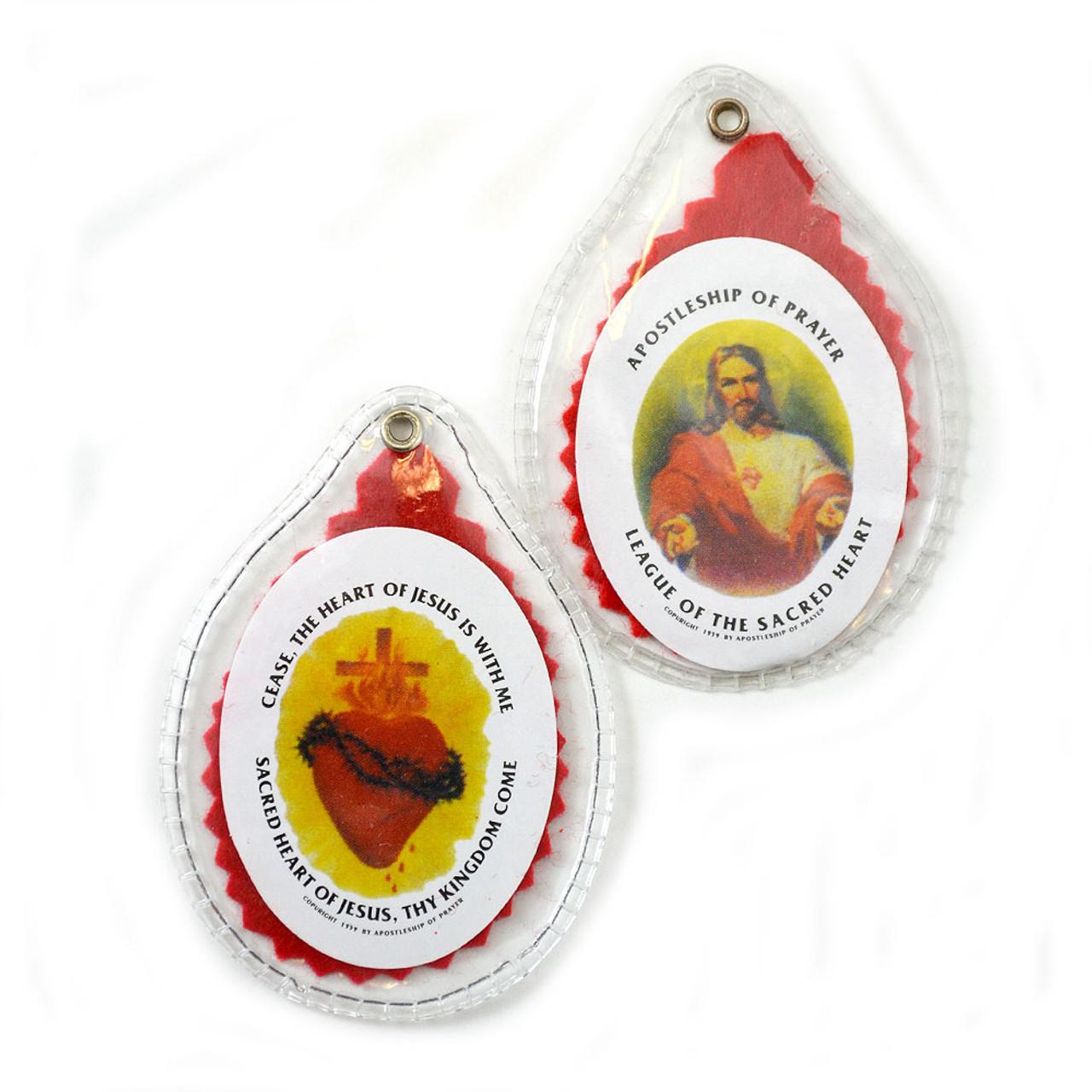 Sacred Heart Badge