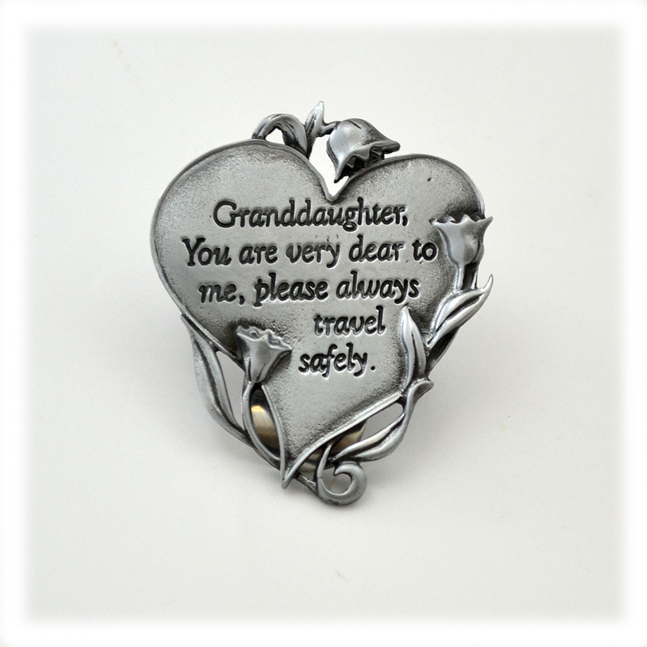Granddaughter Auto Visor Clip