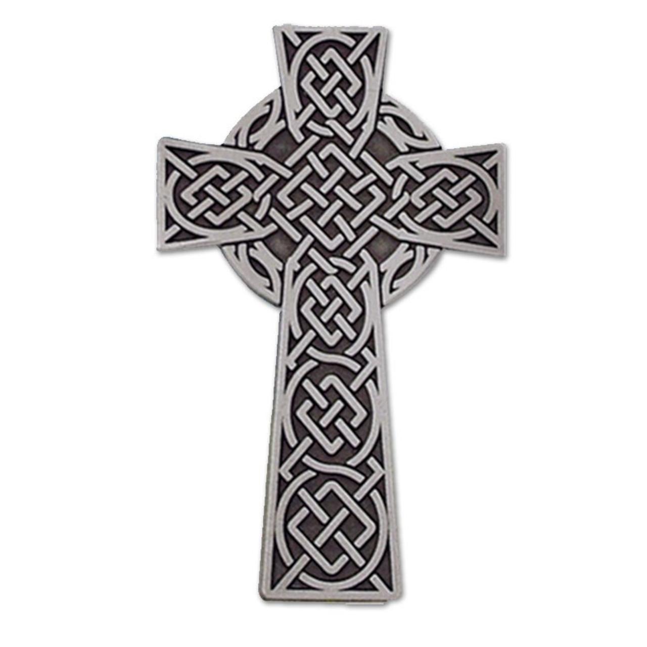 """Visor Clip Celtic Cross 2"""""""