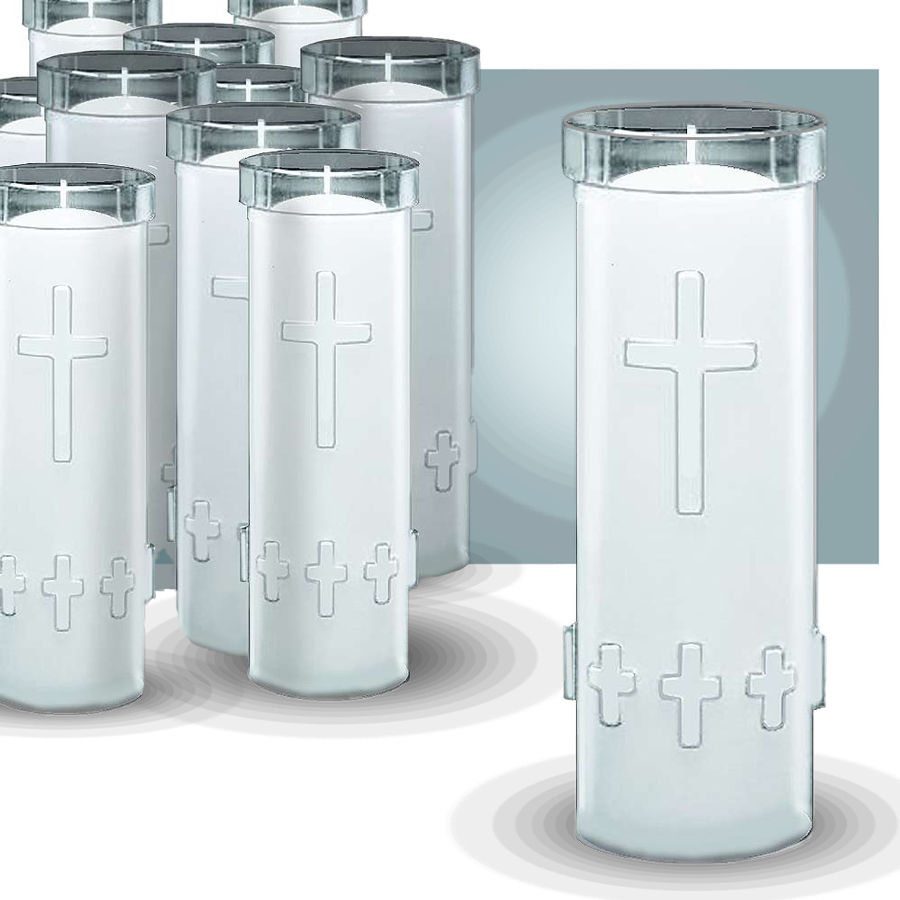 CA 7Day Outdoor Candles