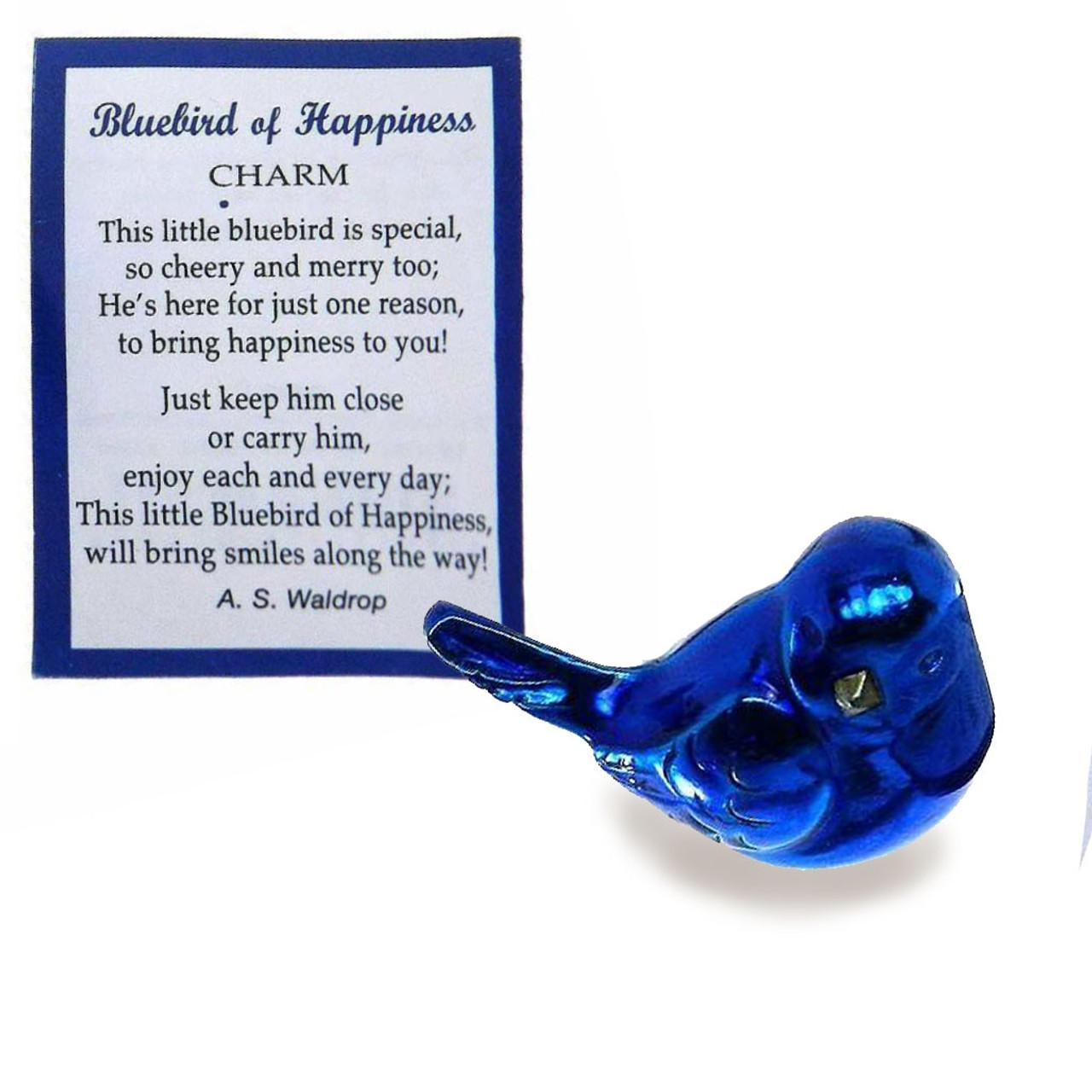 Bluebird Charm of Happiness
