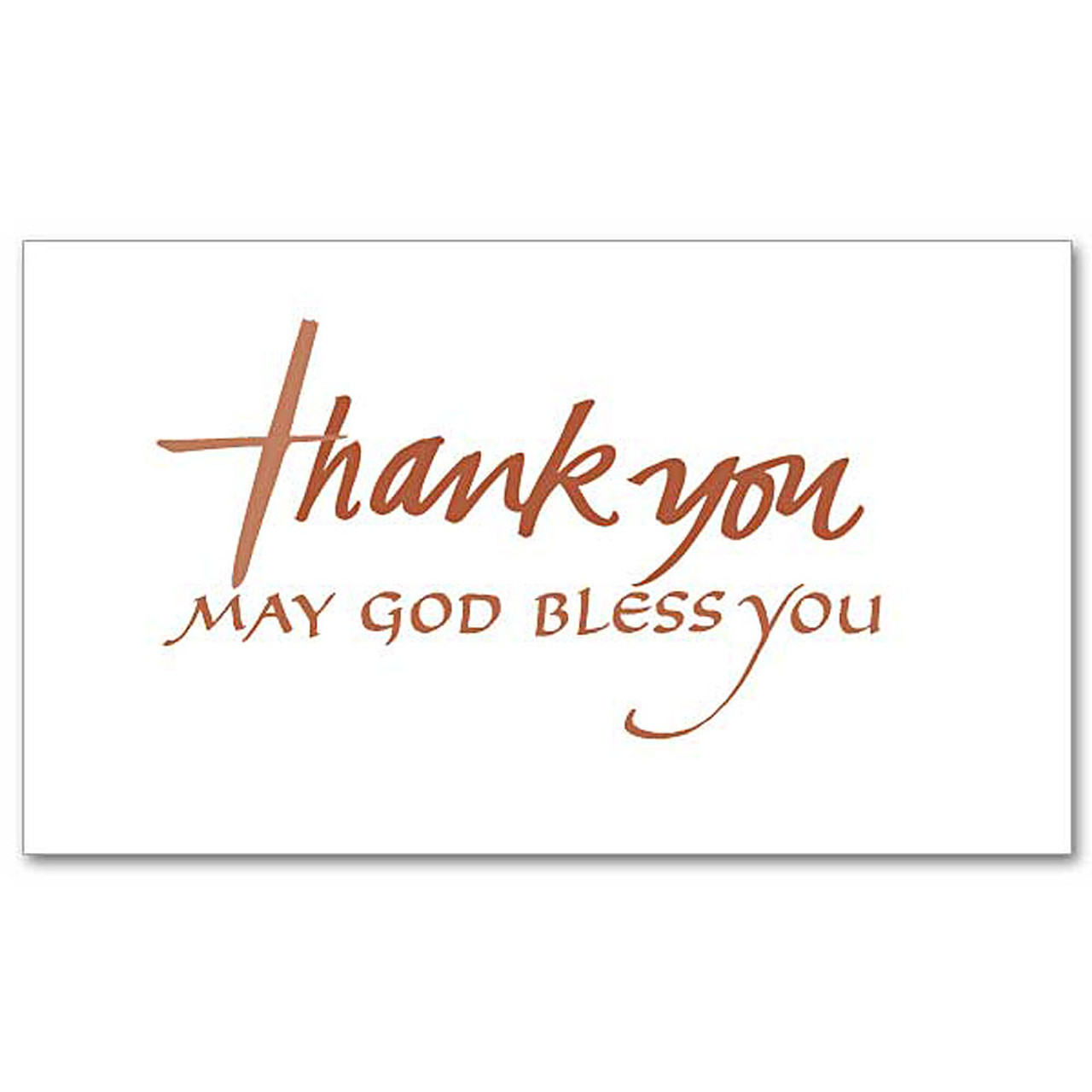 Thank You Notes - Package of 20 Cards & Envelopes
