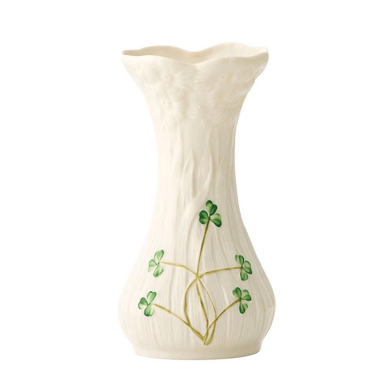 "Belleek 4-1/2""H Daisy Spill Vase 4-1/2"""