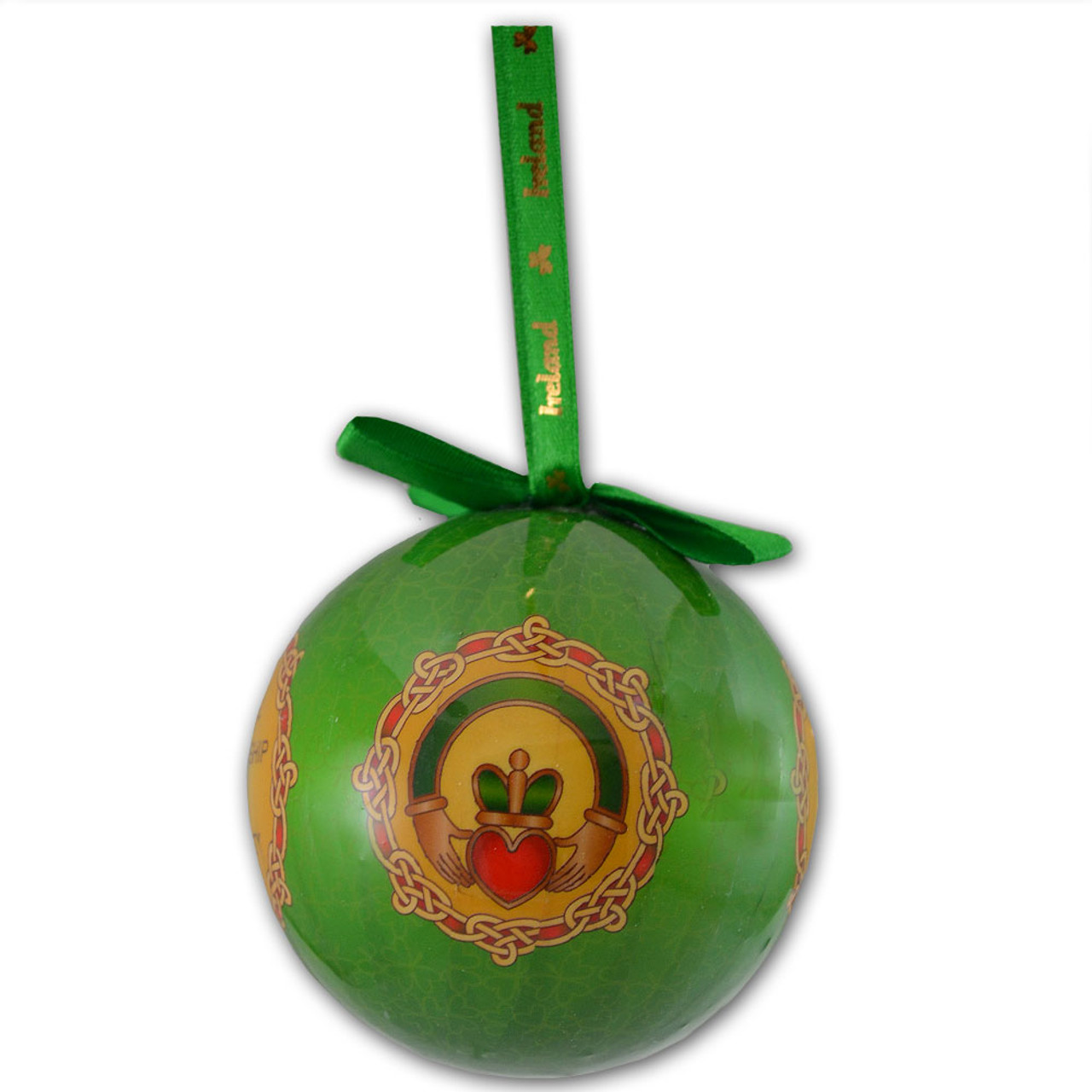 Claddagh Celtic Bauble Ornament
