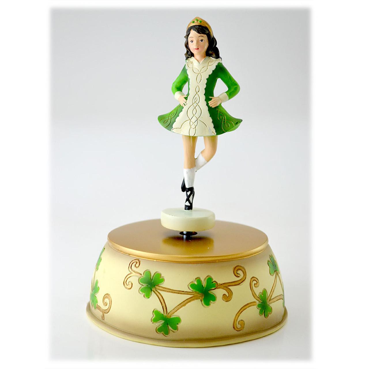 """Irish Dancer Musical Figurine Irish Lullaby 7"""""""