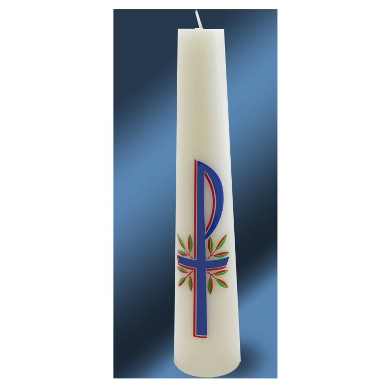 Tapered Christ Candle