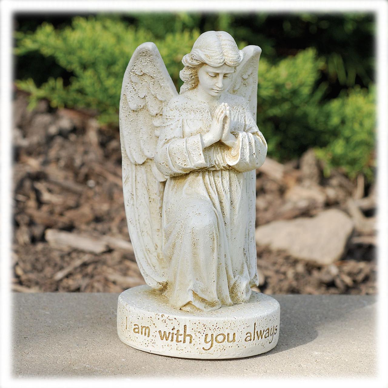Praying Angel Memorial Statue