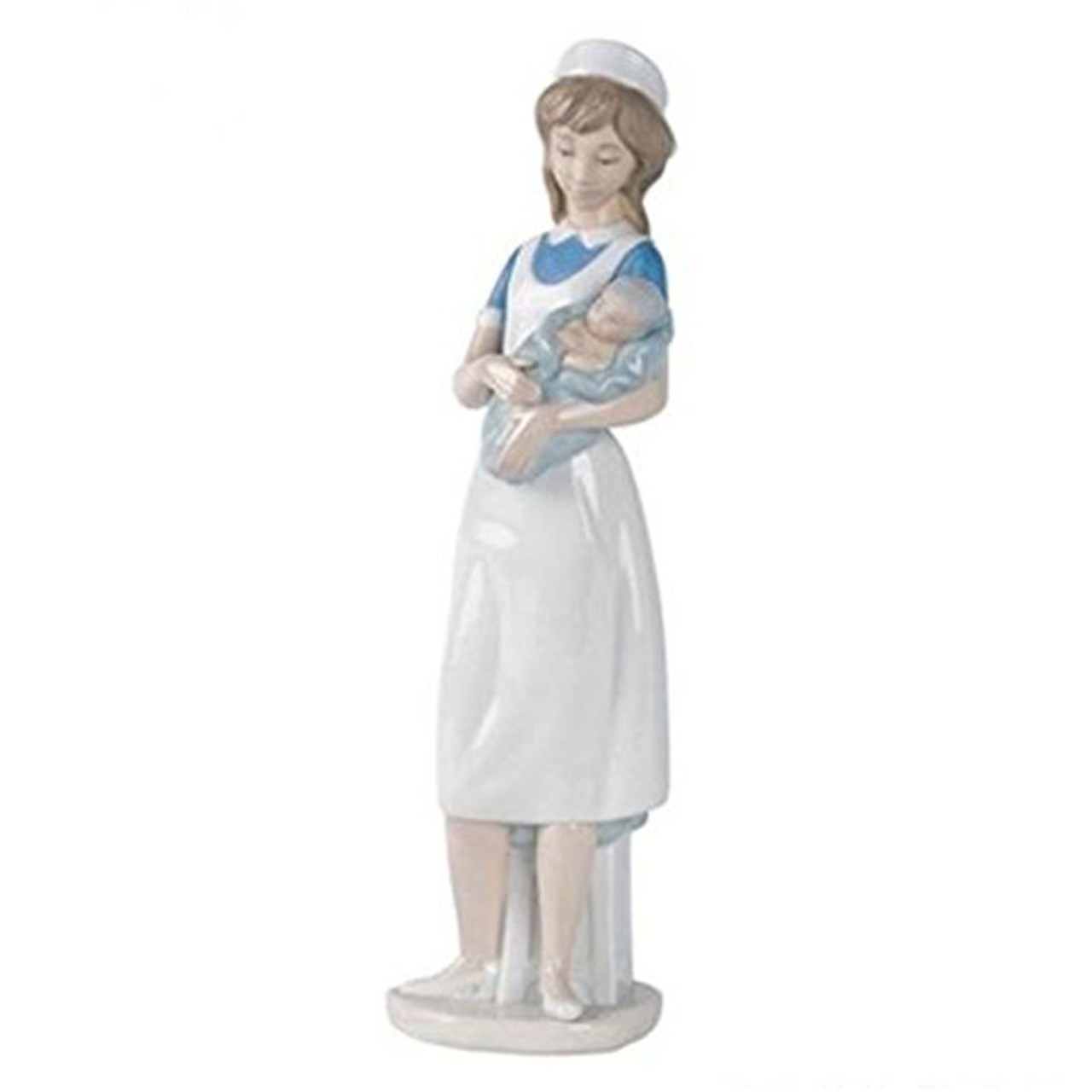 Nurse Lladro Figurine From Spain