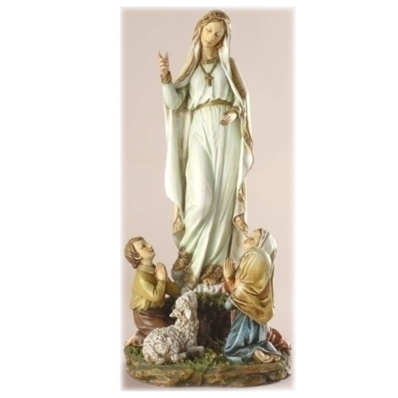 Our lady of Fatima 12 Inch Statue