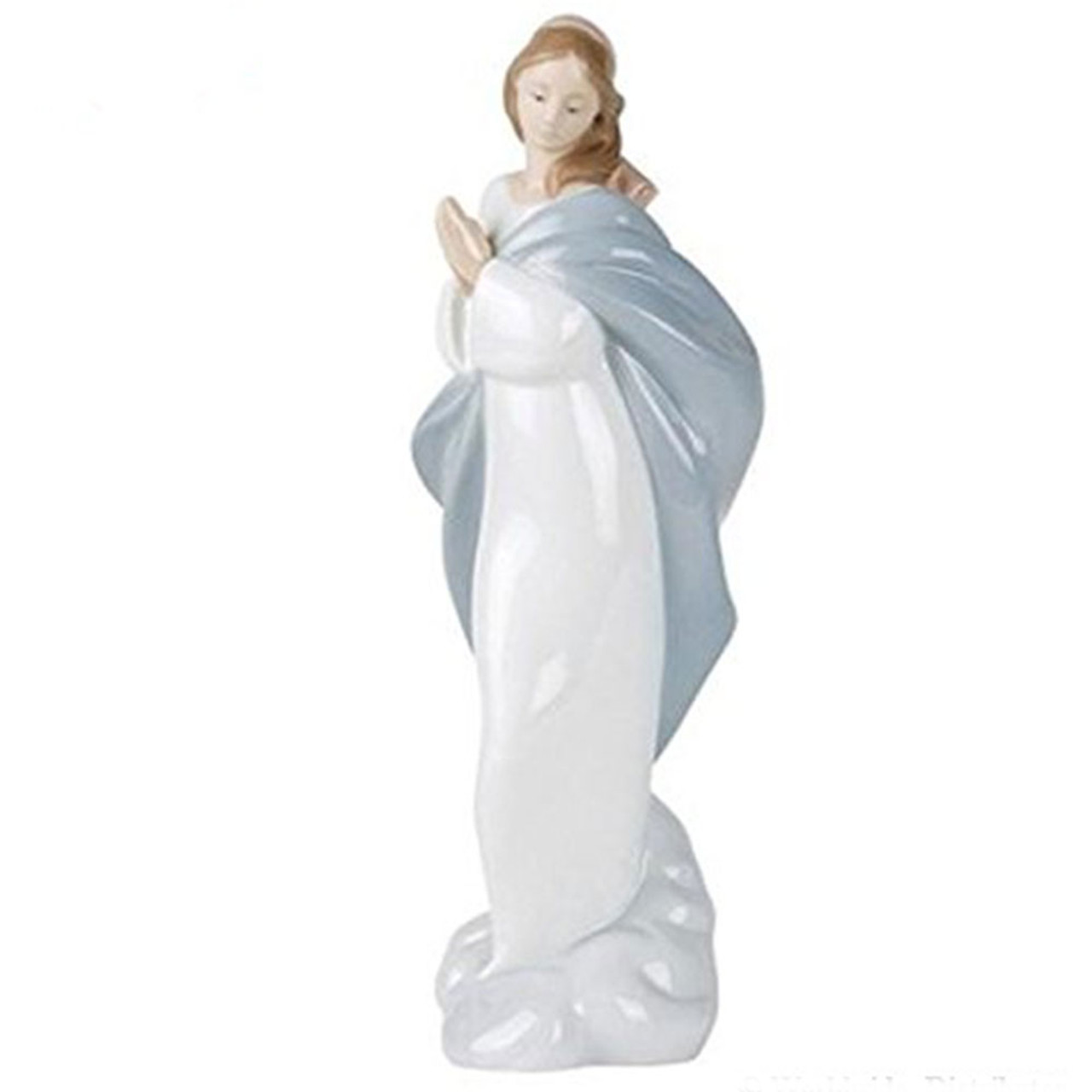 'Holy Mary' Lladro Porcelain Statue From Spain