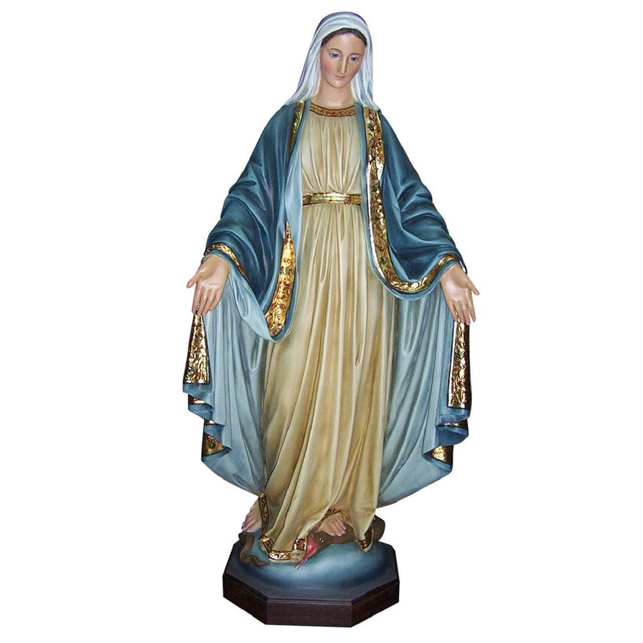Our Lady of Grace Statue 4FT Fiberglass Colored