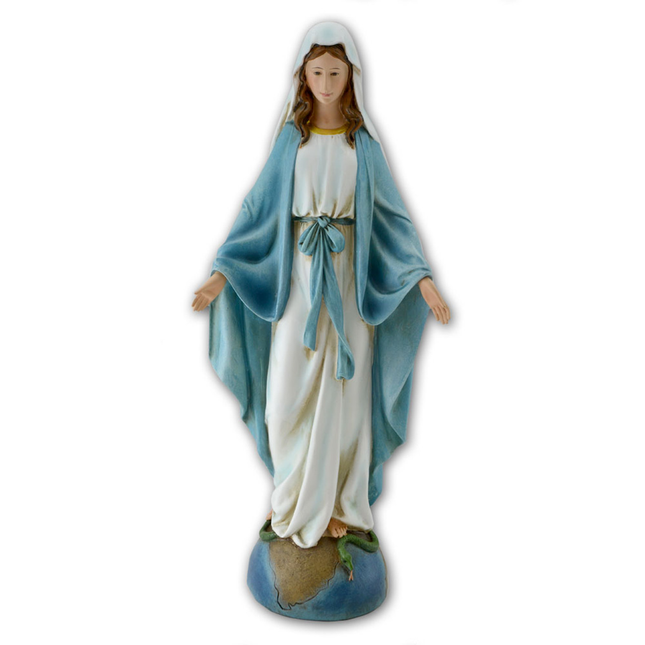 14 Inch Our Lady of Grace Statue
