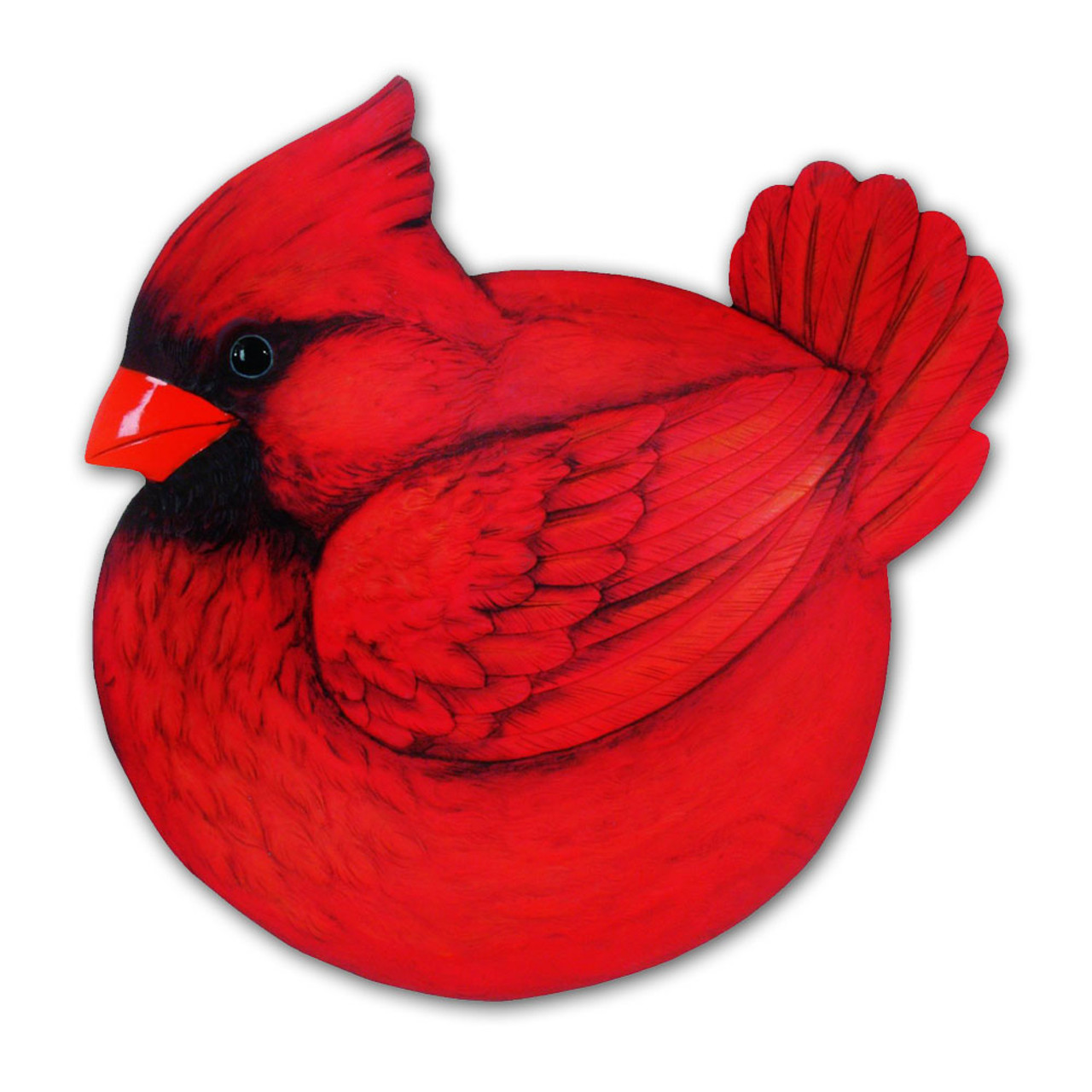 Cardinal Stepping Stone 9IN Resin