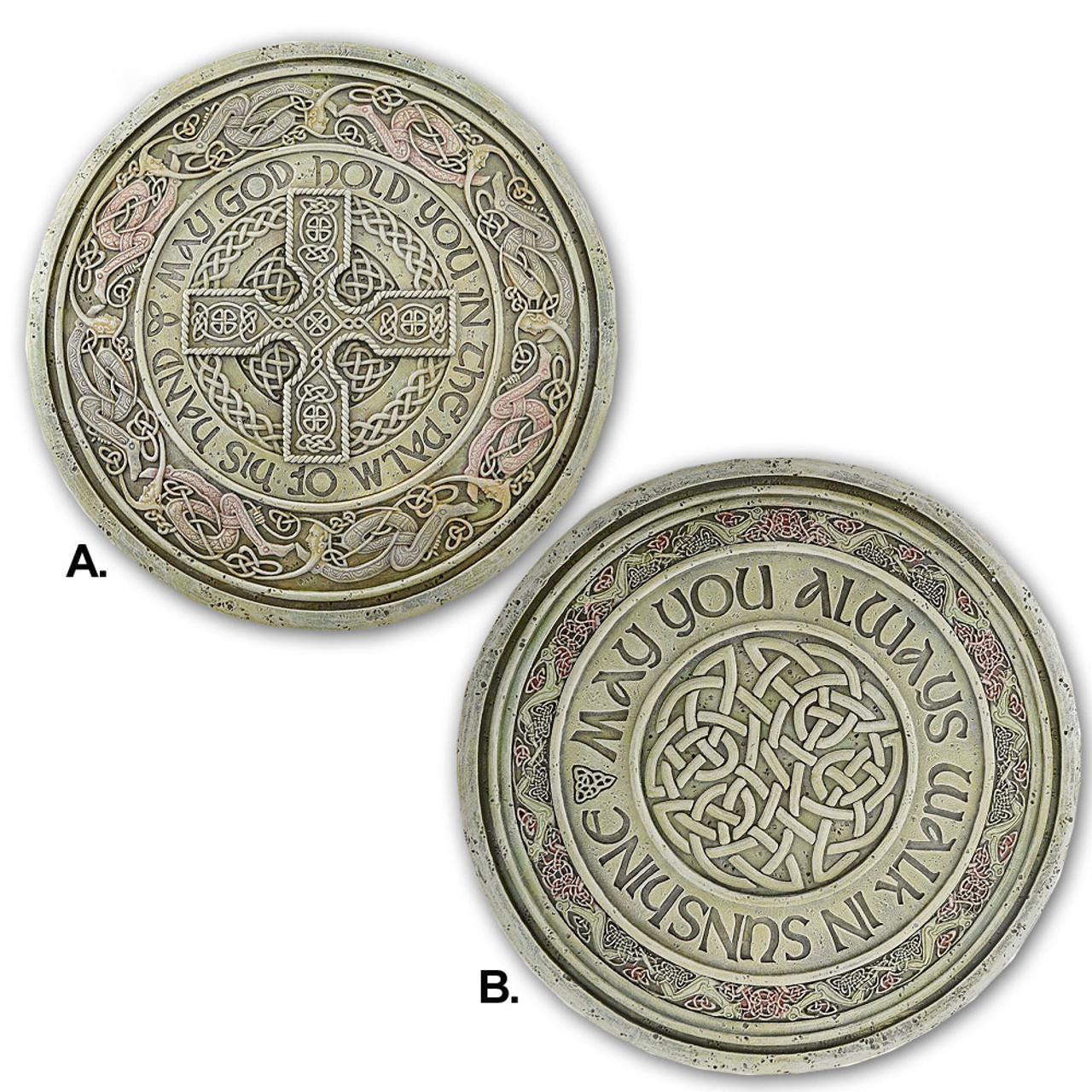 Celtic Garden Stepping Stone Irish