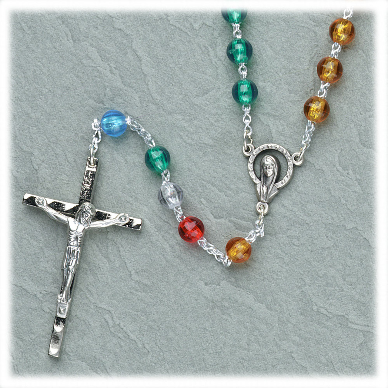 Inexpensive World Mission Rosary