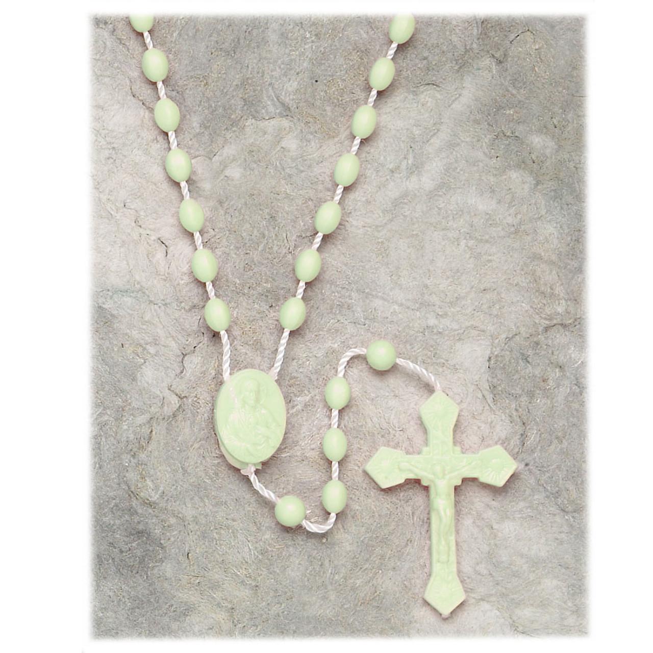 Inexpensive Luminous String Rosary