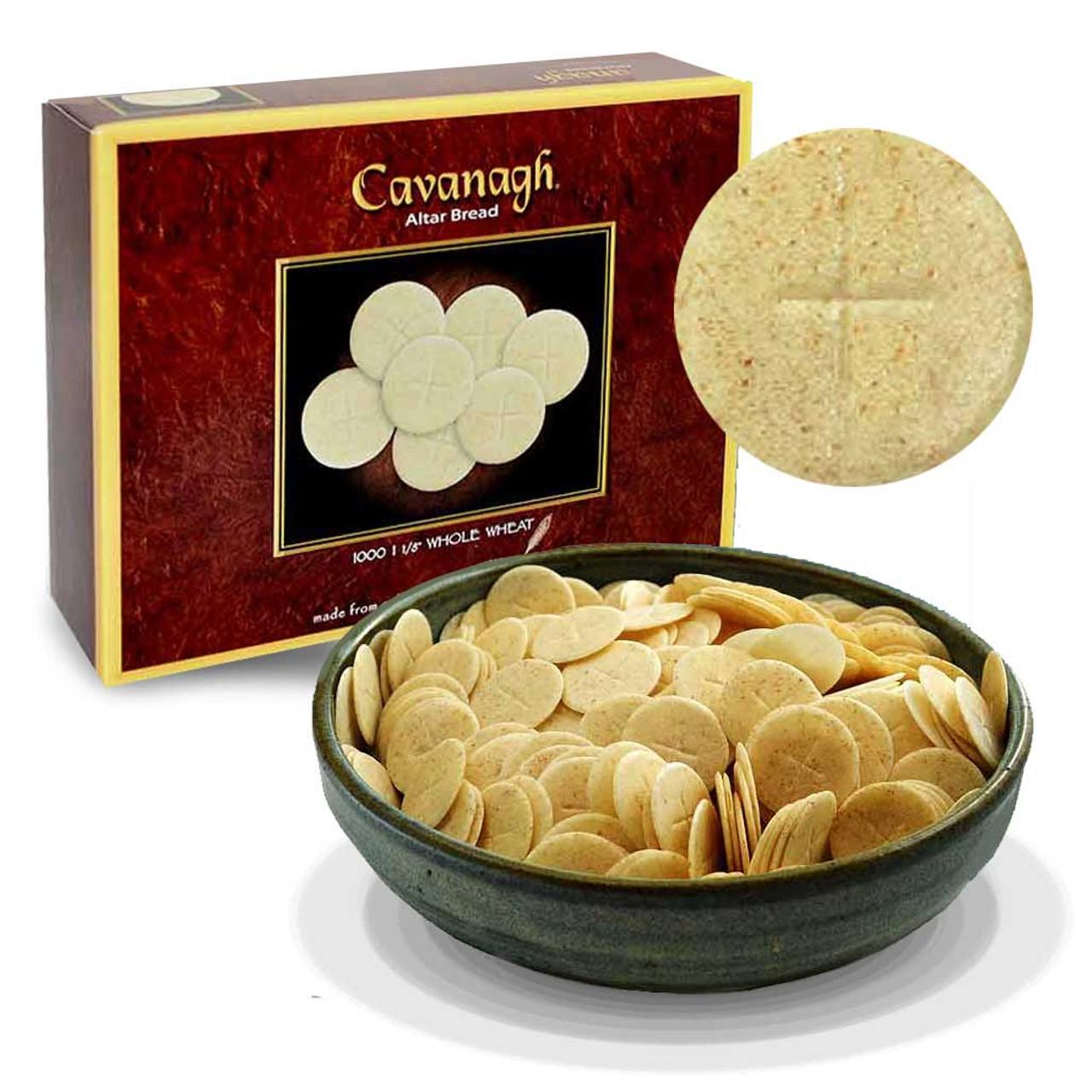 1-1/8 Whole Wheat Altar Breads Box/1000