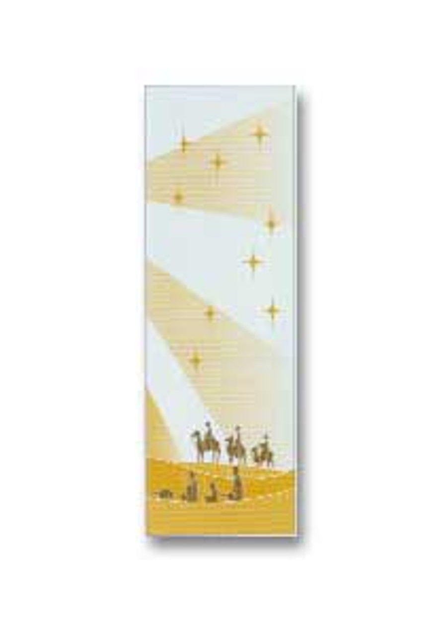 Art Studio Slabbinck Three Kings Epiphany Banner 9x3 Feet