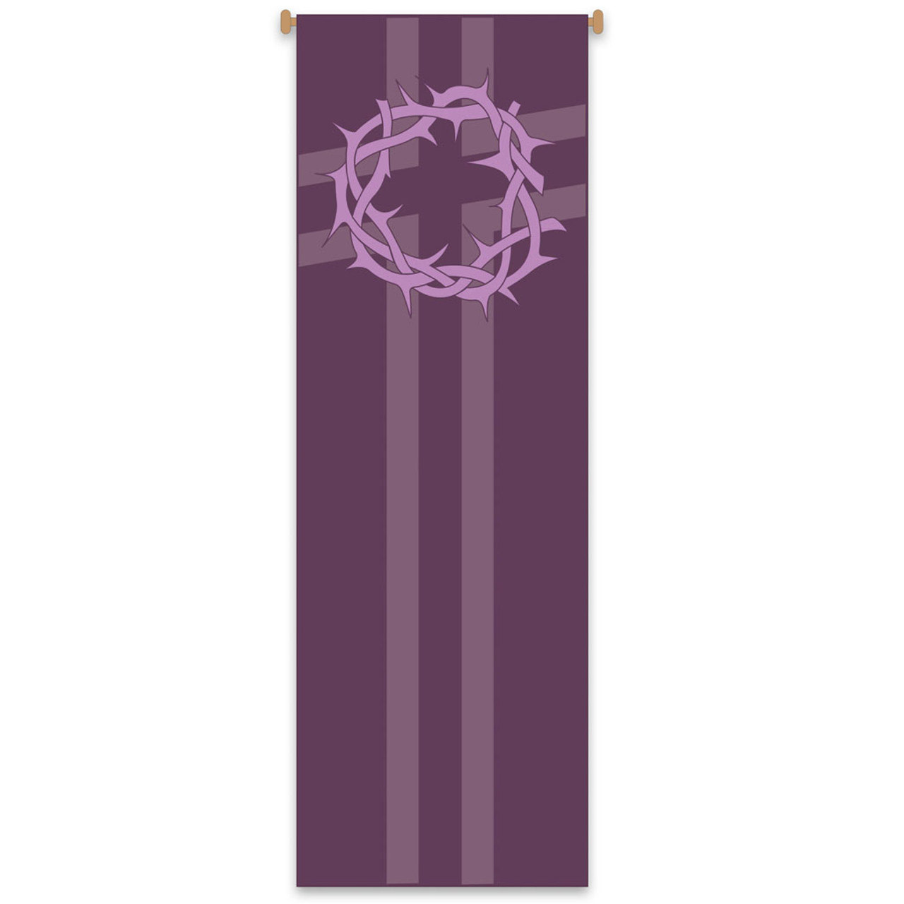 7117 Crown of Thorns Banner