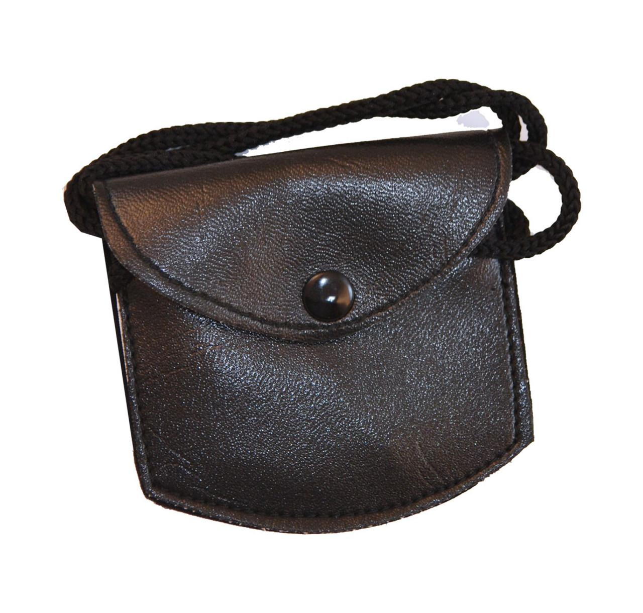 Small leather burse