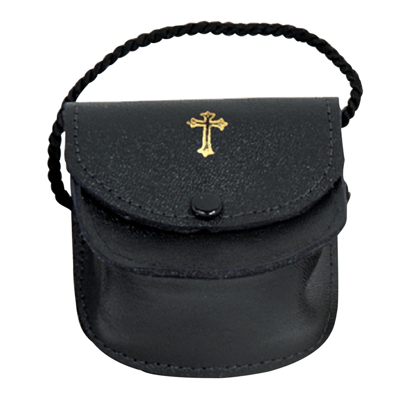 K3115  Leather Gusset Burse