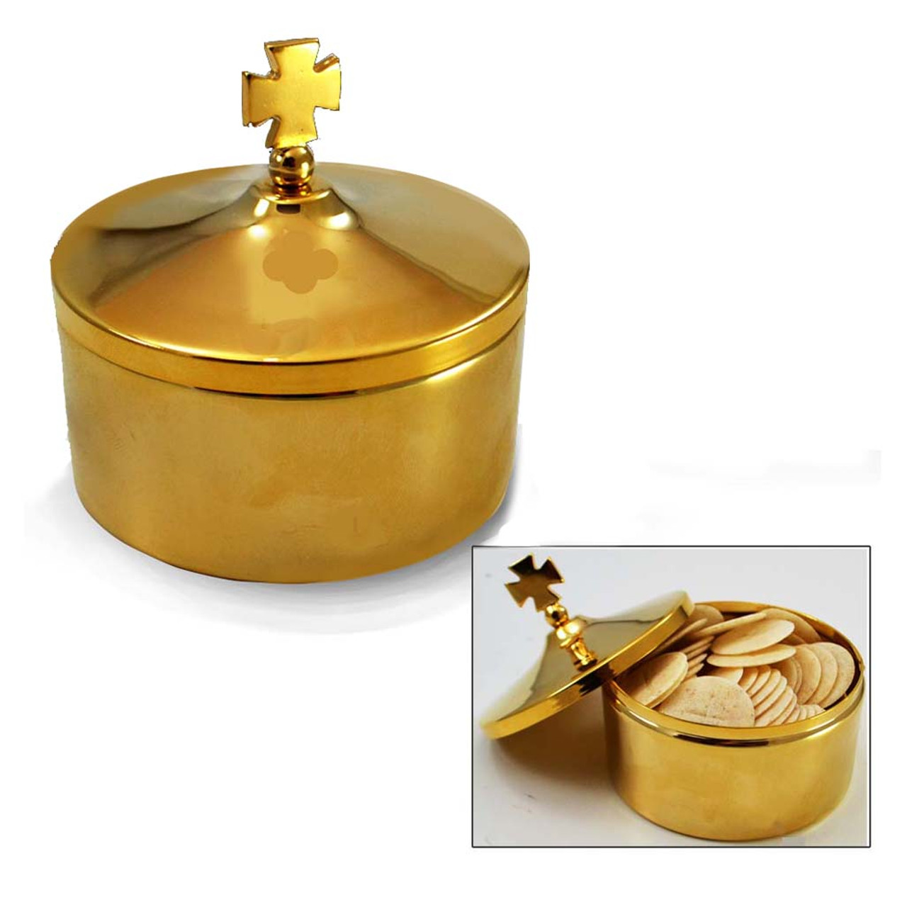 588 Gold Host Box with Removable Lid