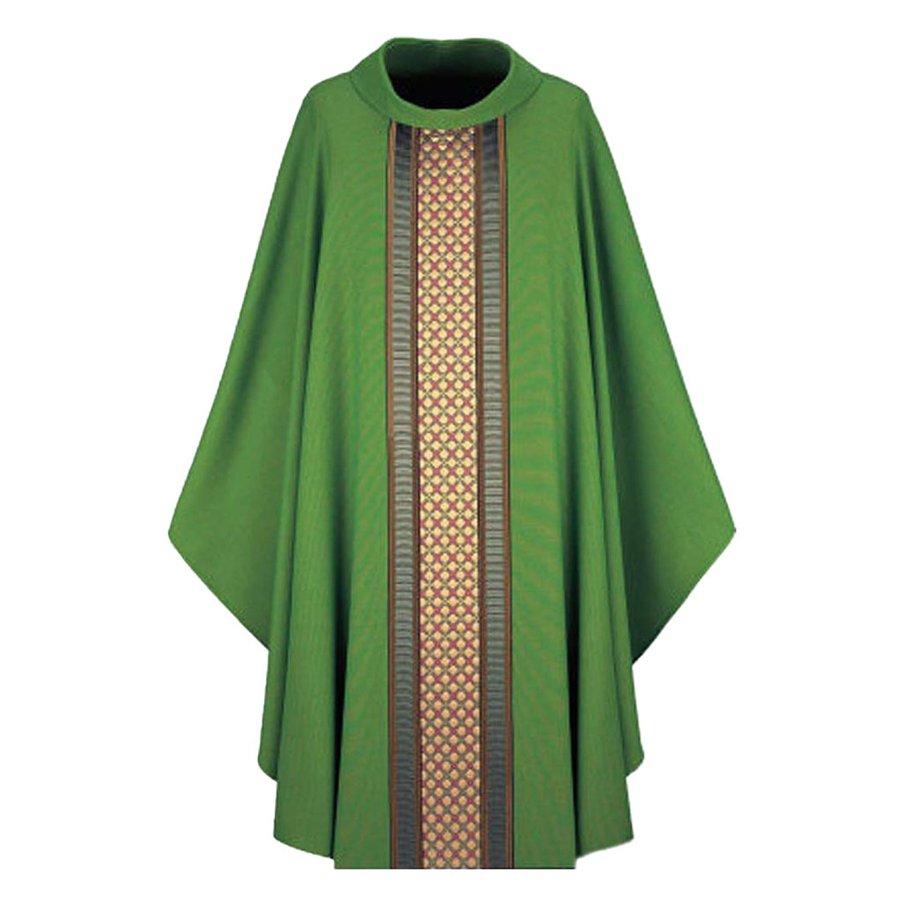 2478 Green Chasuble from Slabbinck